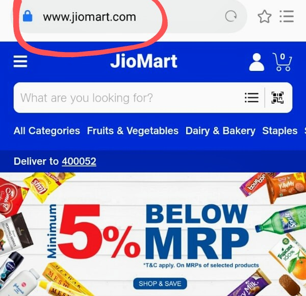 Jiomart Registration