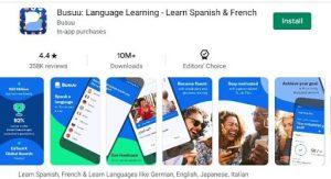 Busuu English Learning App