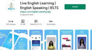 Enguru Learning app