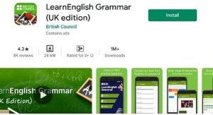 Learn English Grammar App