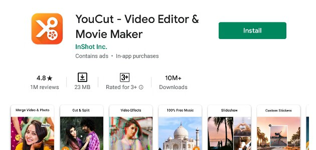 YouCut Video Editor
