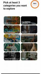 Pinterest Category