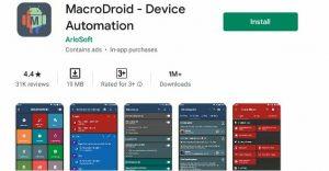 MacroDroid Automation App